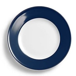 Solid Colour Side plate, 17cm, navy