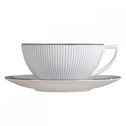 Pin Stripe Tea saucer