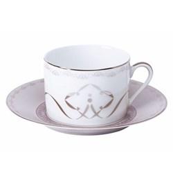 Margot Teacup and saucer, taupe