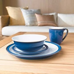 Imperial Blue 16 piece dinnerware set