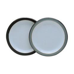 Jet Dessert/salad plate, 22.5cm, black