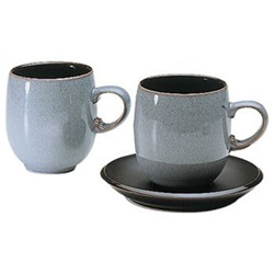 Jet Small curve mug, 30cl, black