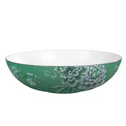 Chinoiserie Green Oval open serving dish, 30.5 x 7cm