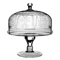 Portia Cake stand and dome, 23cm