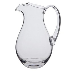 Coolers Ice lip jug, H25cm - 2 litre, clear