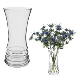 Wibble Bunch vase, H25cm, clear