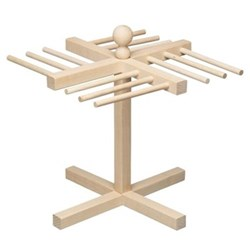 Pasta drying stand, wood