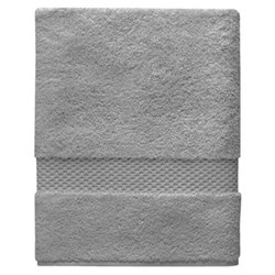 Etoile Shower towel, 70 x 140cm, platine