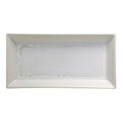 Vuelta Rectangular tray, 32 x 16cm, white pearl