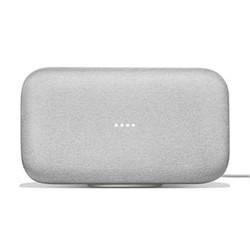 Google Home Max Hands-free smart speaker, chalk