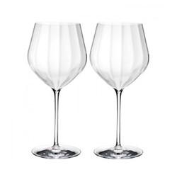 Elegance Optic Pair of Cabernet glasses, H25cm