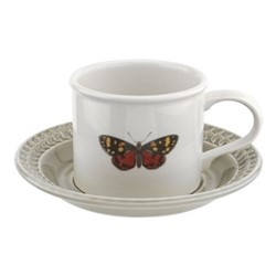 Botanic Garden Harmony Breakfast cup and saucer, stone