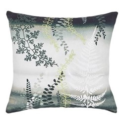 Costa Rica Fern Cushion, 45 x 45cm, green
