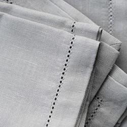 Tablecloth, 280 x 180cm, raw beige