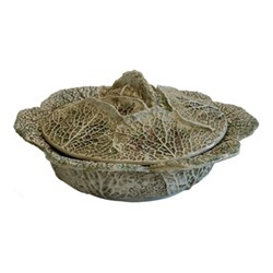 Clorofilla Cabbage covered dish, D33cm, multi