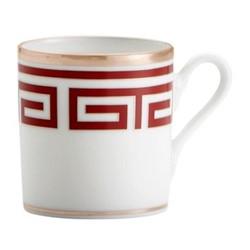 Labirinto Coffee cup, 8cl, scarlatto