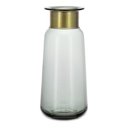 Miza Large vase, H32 x Dia14cm, smoke