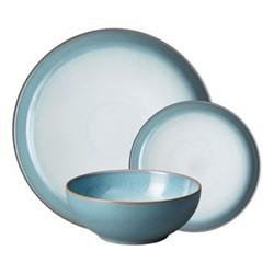 Azure Haze 12 piece coupe tableware set