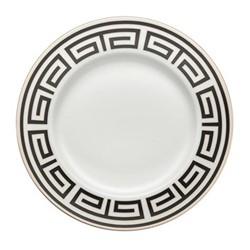 Labirinto Soup plate, 24.5cm, nero
