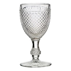 Bicos Set of 4 red wine glasses, H15cm - 21cl, clear