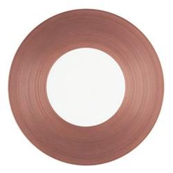 Hemisphere Charger plate, Dia32cm, purple metallic