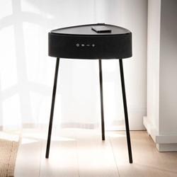 Riva Smart table, H62 x W42 x D43cm, Black