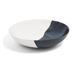 Dip Shallow serving bowl, Dia35 x H8cm, smoke/cream