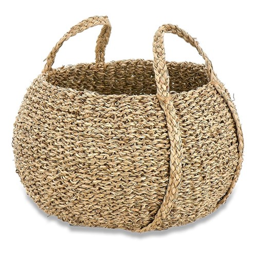 Rundi Seagrass basket, Dia32cm, natural