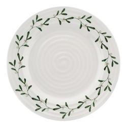 Mistletoe Side plate, Dia20cm, white/ green