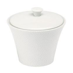 Seychelles Sugar bowl, 16.5cl, white