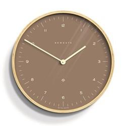 Mr Clarke Wall clock, Dia40 x D4.7cm, burnt sienna