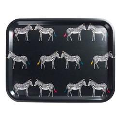 Zebra Large tray, 43 x 33cm