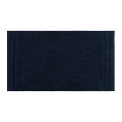 Cotton Bath mat, 50 x 90cm, navy
