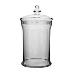 Belmont Large jar, H42 x D22cm, clear
