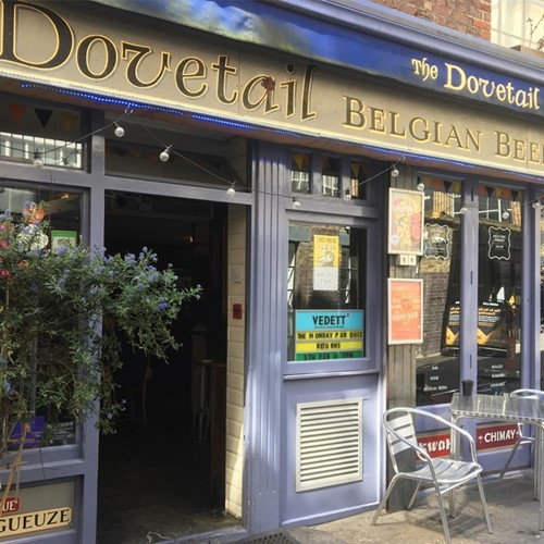 Belgian beer tasting for two at The Dovetail