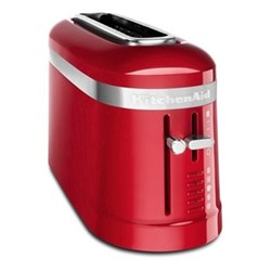 Design 2-slice long slot toaster, empire red