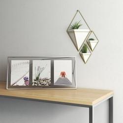 Prisma Photo frame, 48 x 23 x 8cm, chrome