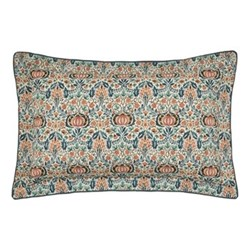 Little Chintz Oxford pillowcase, 74 x 48cm, teal