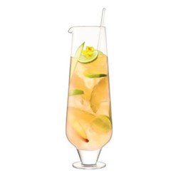 Rum Jug & stirrer, 1.8 Litre, clear