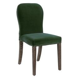 Stafford Chair, L45 x W59 x H92cm, moss velvet