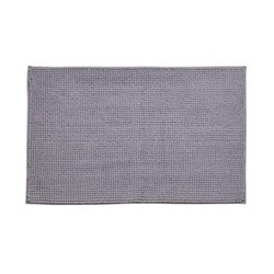 Bobble Bath mat, 50 x 80cm, silver