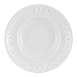 Utopia Pasta plate, 28 x 6cm, white