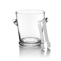 Ethan Ice bucket and tongs, H18.5 x D7cm - 2 litre