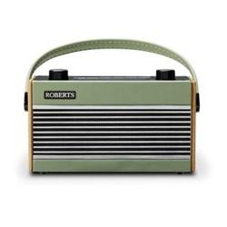 Rambler BT DAB/DAB+/FM RDS Digital Radio, H12 x W21 x D8.5cm, green