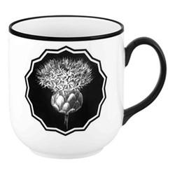 Herbariae Mug, H10 x D9cm, white