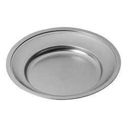 Original Vintage Round platter, Dia35cm, stainless steel