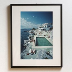 Slim Aarons - Hotel Du Cap-Eden-Roc Framed photograph, H71 x W56cm