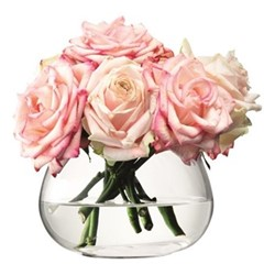 Flower Table arrangement vase, 11cm, clear
