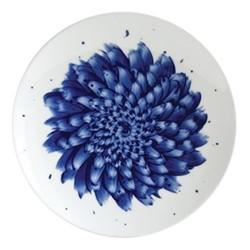 In Bloom Salad Plate, 21cm, blue