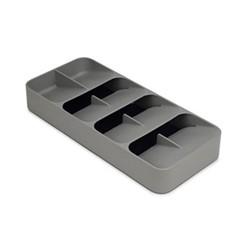 Cutlery organiser, H5.5 x W17.5 x D39.5cm, grey